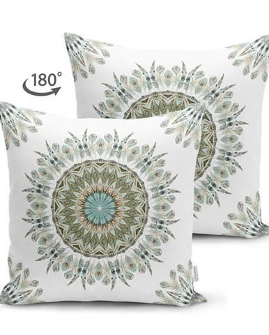 Obliečka na vankúš Minimalist Cushion Covers Mandala, 45 x 45 cm