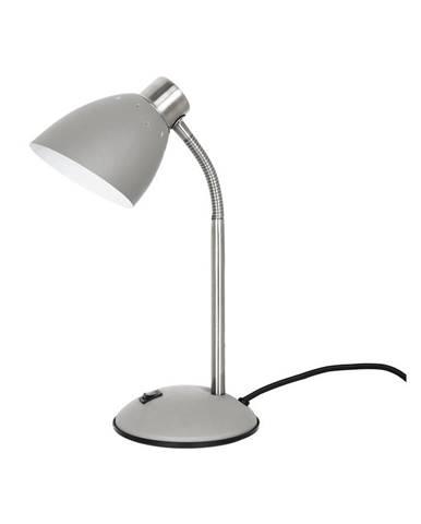 Sivá stolová lampa Leitmotiv Dorm