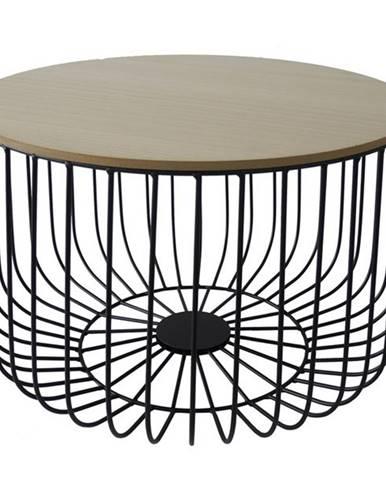 Odkladací stolík FU14 paulovnia, Ø 50 cm