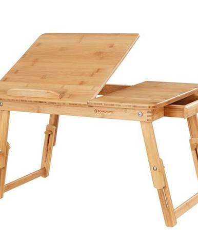 Stolík na laptop LLD01N bambus