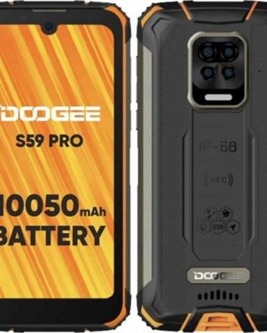 Odolný telefón Doogee S59 PRO 4 GB/128 GB, oranžový