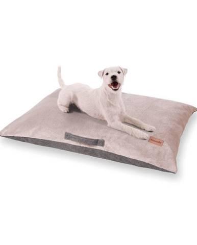 Brunolie Henry, pelech pre psy, podložka pre psy, prateľný, ortopedický, protišmykový, priedušný, pamäťová pena, veľkosť M (80 x 10 x 55 cm)