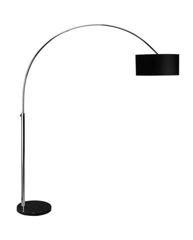 BOW Stojaca lampa - čierna
