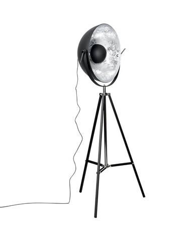 SATELLIGHT Stojaca lampa 60 cm - čierna/strieborná
