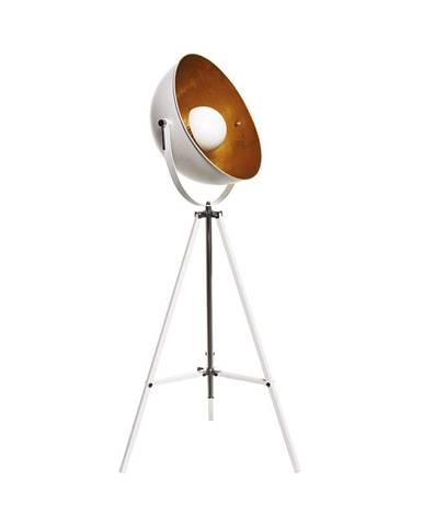 SATELLIGHT Stojaca lampa - biela/zlatá