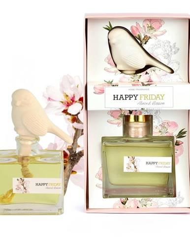 Difuzér s vôňou mandľových kvetov HF Living Fragrance, 100 ml