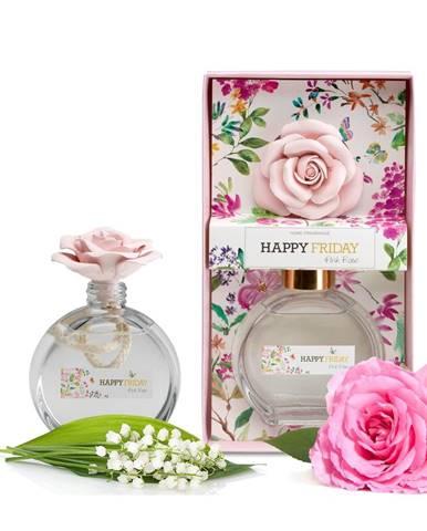 Difuzér s vôňou ružovej ruže HF Living, 190 ml