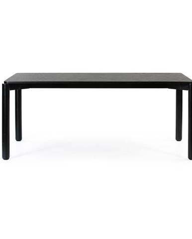 Čierny jedálenský stôl Teulat Atlas, 180 x 100 cm