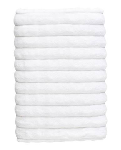 Biela bavlnená osuška Zone Inu, 140 x 70 cm