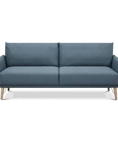 Modrá rozkladacia pohovka Tomasucci Cigo, šírka 210 cm