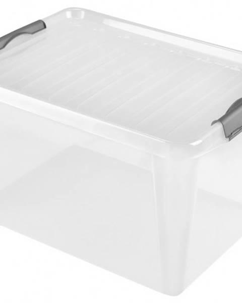 HEIDRUN Úložný box s vekom Heidrun HDR605, 31l, plast