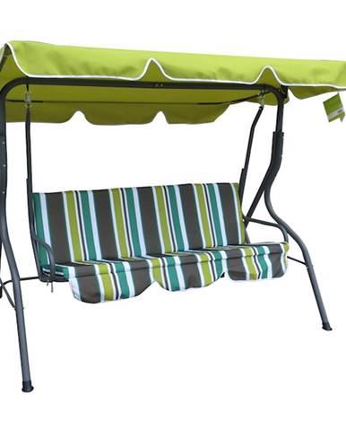 Happy Green Záhradná hojdpačka Panama Spring Lines, 110 x 170 x 153 cm