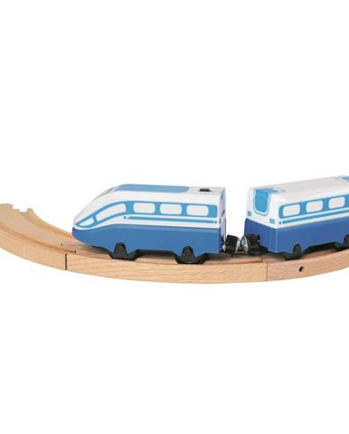 Bino Osobný vlak na batérie, 24,5 cm