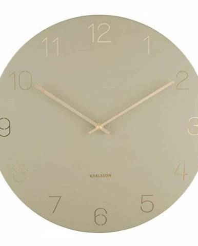 Karlsson 5762OG dizajnové nástenné hodiny, pr. 40 cm