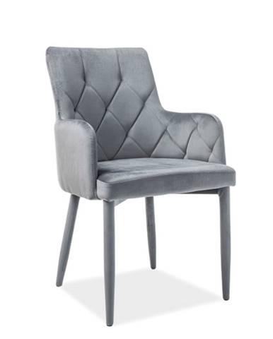 Signal Jedálenská stolička RICARDO Velvet