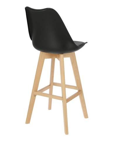 ArtD Barová stolička Norden Wood čierna