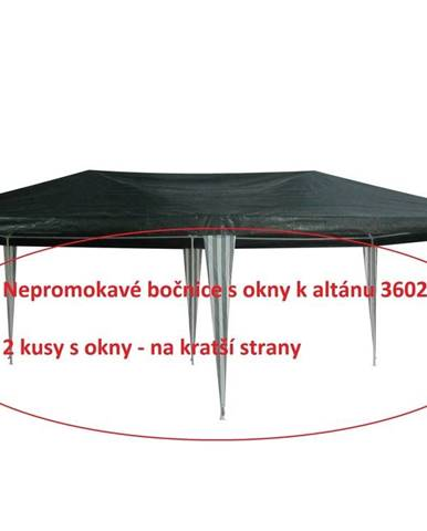 ArtRoja Bočnice k altánku 3602 - 2ks s oknami - ZELENO / BIELE