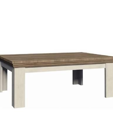 Konferenčný stolík sosna nordická/dub divoký ROYAL LN2