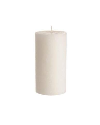 RUSTIC Sviečka 13 cm - krémová