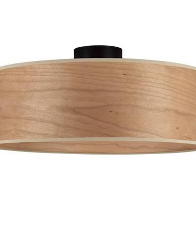 Stropné svietidlo s tienidlom z dreva čerešne Sotto Luce TSURI XL