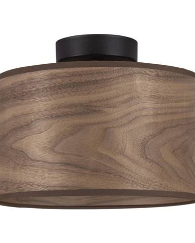 Stropné svietidlo s tienidlom z dreva orechu Sotto Luce TSURI S