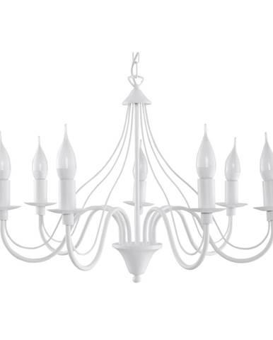 Biele stropné svietidlo Nice Lamps Floriano 7