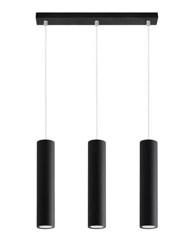 Čierne stropné svietidlo Nice Lamps Castro 3