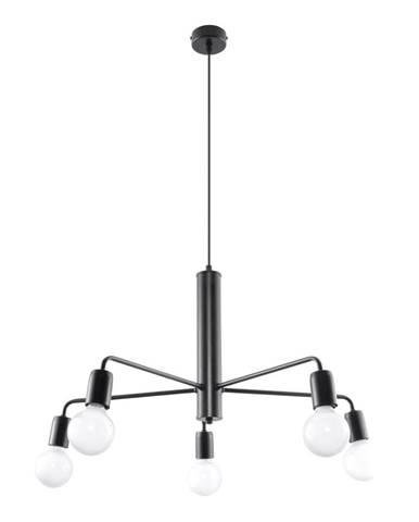 Čierne stropné svietidlo Nice Lamps Donato 5