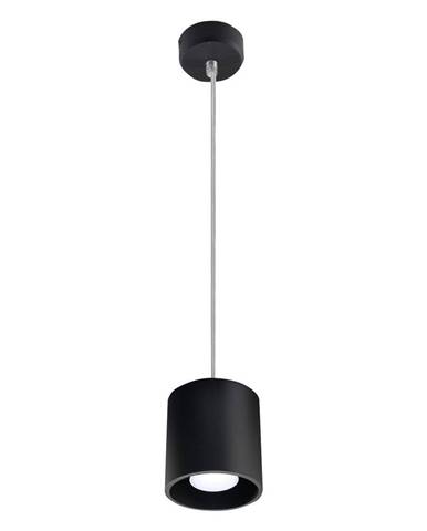 Čierne závesné svietidlo Nice Lamps Roda