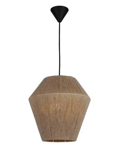 Čierno-béžové závesné svietidlo Homemania Decor Fero, výška 30 cm