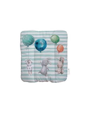 Vankúš na sedenie Mr. Little Fox Flying Bunnies, 75 x 70 cm