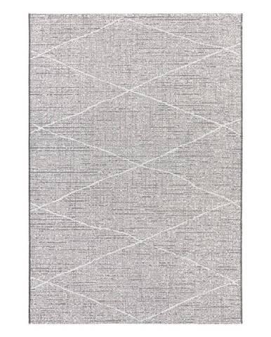Antracitovobéžový koberec Elle Decor Curious Blois, 115×170 cm