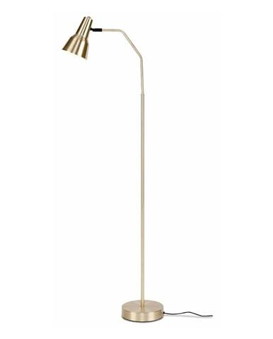 Stojacia lampa v zlatej farbe Citylights Valencia