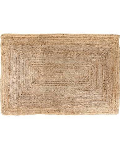 Svetlohnedý koberec HoNordic Bombay, 135 × 65 cm