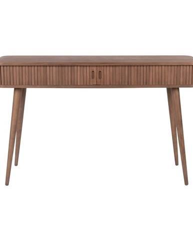 Hnedý konzolový stôl Zuiver Barbier, dĺžka 120 cm