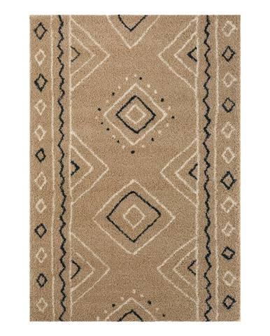 Béžový koberec Mint Rugs Disa, 80 x 150 cm