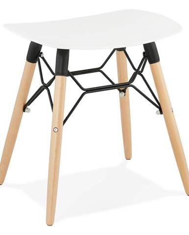 Biela stolička Kokoon Jartel