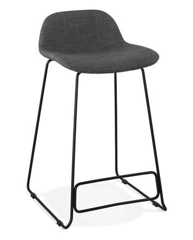 Tmavosivá barová stolička Kokoon Vancouver Mini, výška sedu 66 cm