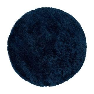 Tmavomodrý koberec Flair Rugs Sparks, ⌀ 133 cm