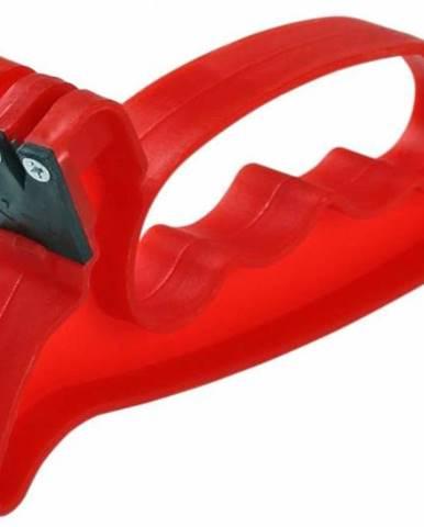 Ostrič nožov a nožníc, plastový, 13,8x2,5x6,5 cm / brúska