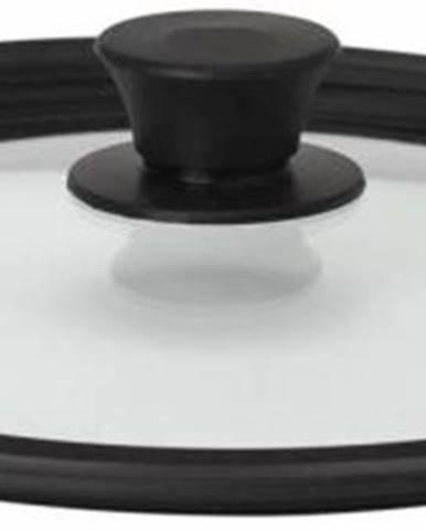 Pokrievka univerzálna silikón + sklo na panvicu (o24/26/28)