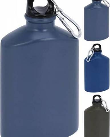 Fľaša športová ALU 500 ml 100x50x190 mm ovál mix