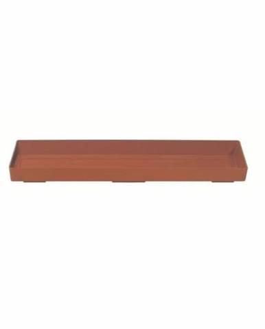 Miska pod truhlík 50, terakotta, 44 cm