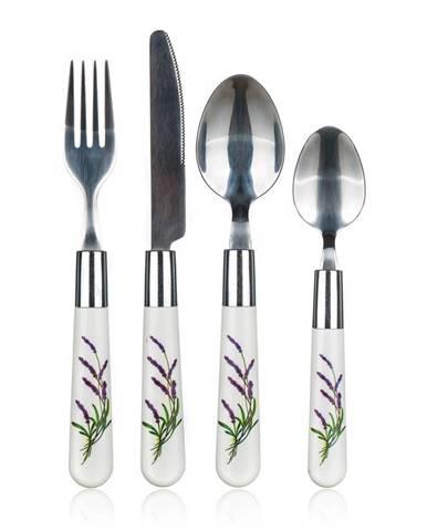 Banquet 24-dielna sada príborov Lavender
