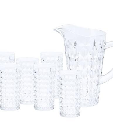 Sada džbánu a 6 pohárov