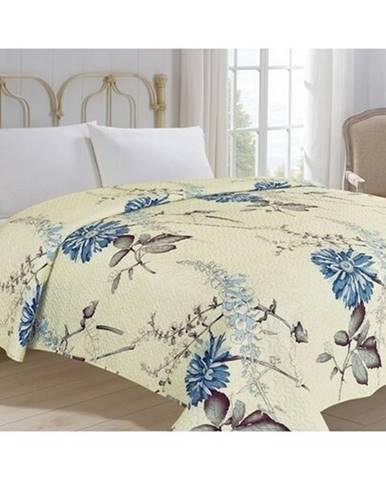 Jahu Prehoz na posteľ Bianca béžová, 220 x 240 cm