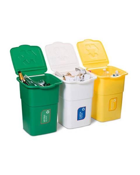 Bellatex Kôš na triedený odpad Eco 3 Master 50 l, 3 ks