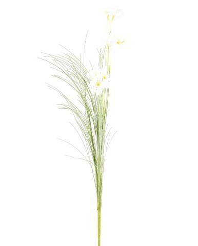 Umelé lúčne kvetiny 51 cm, biela