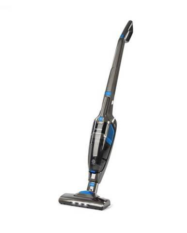 Klarstein TurboHybrid, vysávač, podlahový a ručný vysávač, antracitovo/modrý