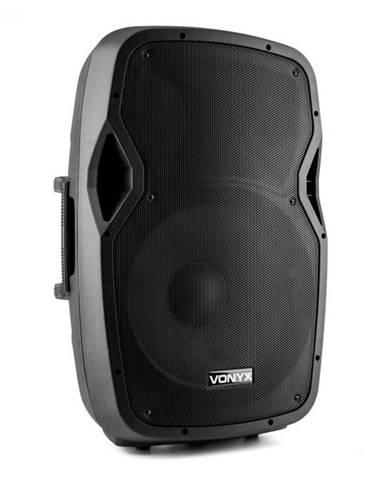 """Vonyx AP1500ABT MP3, hi-end aktívny reproduktor, 600 W, 15"""", bluetooth, MIC-IN,"""